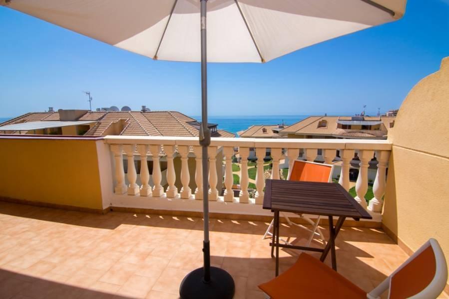 马拉加Fuengirola 海景公寓