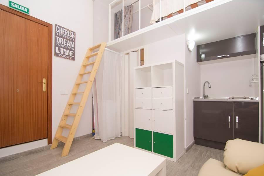 马德里市中心经凑型单人公寓
