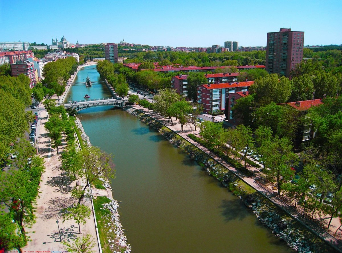 马德里市中心Moncloa大学城公寓